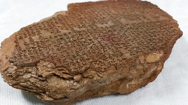 Tarihi an! ABD, 3500 yıllık Gılgamış Rüya Tableti'ni iade ediyor