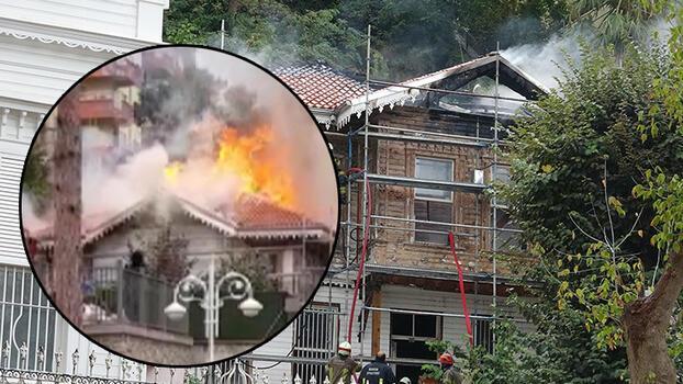 Bursa'da tarihi Ormancılık Müzesi'nin çatısında yangın