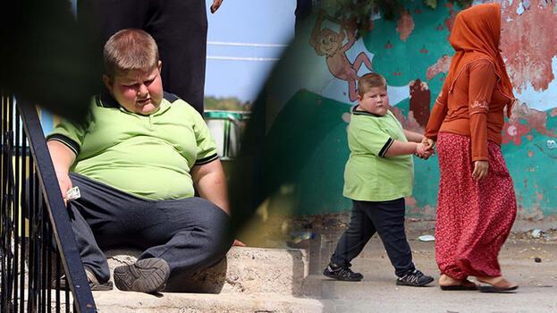 6 yaşında 68 kiloya ulaştı! 'Sürekli acıktığını hissediyor'