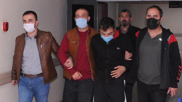 Çaldıkları otomobille gezerken yakalanan 2 şüpheli adliyede