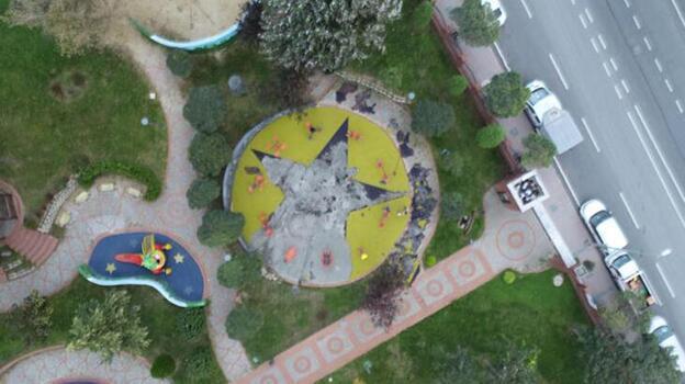 Küçükçekmece'de parktaki tepki çeken görsellerle ilgili yeni gelişme
