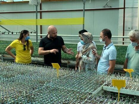 Azerbaycan'dan Serik'e ziyaret