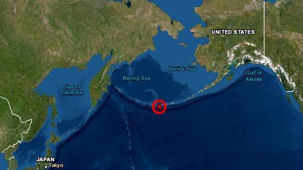 Son dakika... Alaska açıklarında 6.1 büyüklüğünde deprem