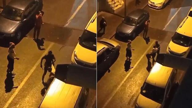 Sultangazi'de sokak ortasında feci şekilde darbettiler