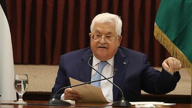 Son dakika: Filistin Devlet Başkanı Abbas: İsrail'e bir yıl veriyoruz