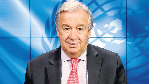 Guterres 27 Eylül'de Tatar ve Anastasiadis ile üçlü görüşme yapacak