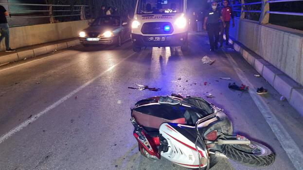 Adana'da feci kaza! Çocuk öldü baba yaralandı