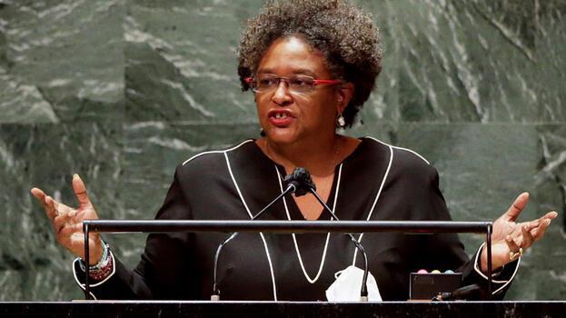 BM'de boş salona hitap eden Barbados Başbakanı tepki gösterdi