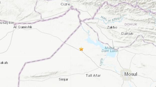 Irak'ta korkutan şiddetli deprem