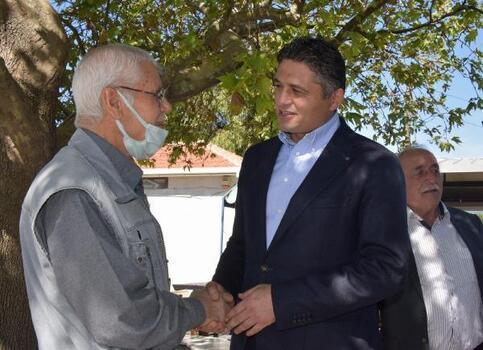 Aliağa  Belediye Başkanı Acar, mahalle sakinleriyle buluştu