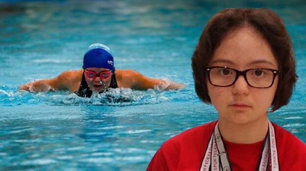 Down sendromlu rekortmen yüzücü anlattı: Bu sözleri duymaktan bıktık!