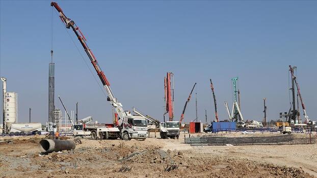 Akkuyu NGS'nin ikinci güç ünitesinde temel inşaat ve montaj çalışmaları tamamlandı