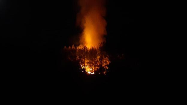 Son dakika: Fethiye'de orman yangını! Ekipler müdahale ediyor