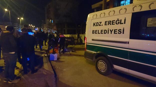 Zonguldak'ta pat pat devrildi: 1 ölü, 2 yaralı