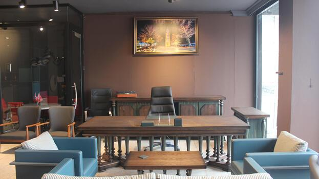 Teknoloji ile donatılan ofis mobilyaları İnegöl'den 30 ülkeye ihraç ediliyor