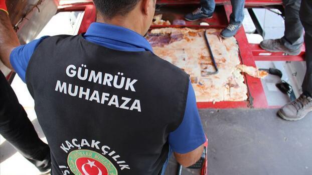 Gümrük muhafaza ekipleri kaçakçılara göz açtırmadı