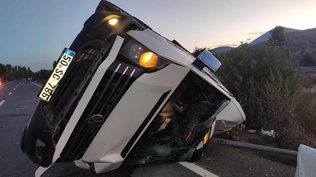 'Kız isteme' yolunda feci kaza! 17 kişi yaralandı