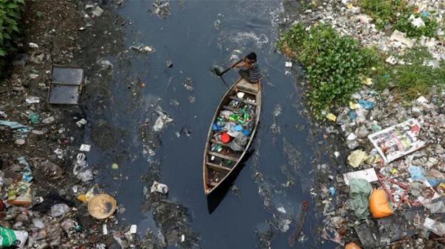 Bangladeş'te yüzlerce nehir kirlilik tehlikesiyle karşı karşıya