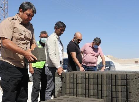 Diyadin'de kurulan taş ocağı hem istihdama hem de belediye bütçesine katkı sağlıyor