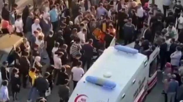 İstanbul'da korku dolu anlar! Bir anda herkes oraya yöneldi