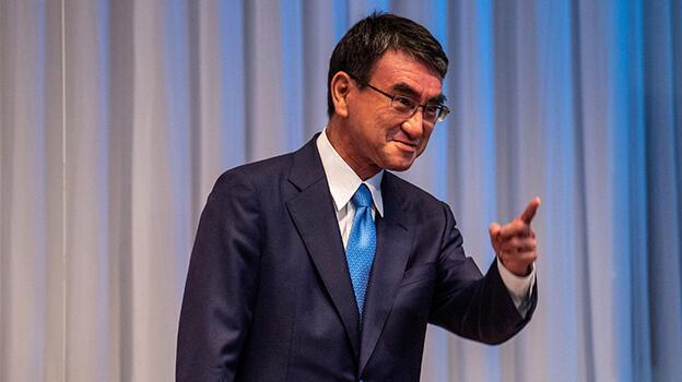 Japonya'da iktidar partisinin favorisi Kono görünüyor