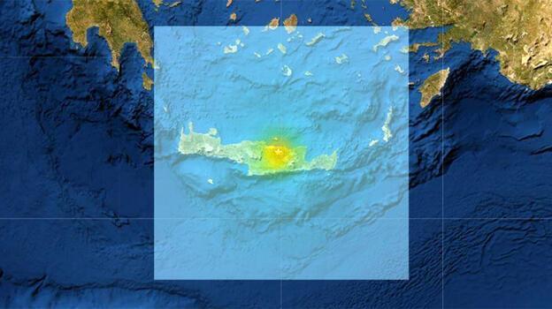 Son dakika... Yunanistan'da 6 büyüklüğünde deprem