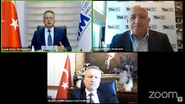 TİM Başkanı Gülle: Dünya kuru kayısı ihtiyacının yüzde 70'i Malatya'dan