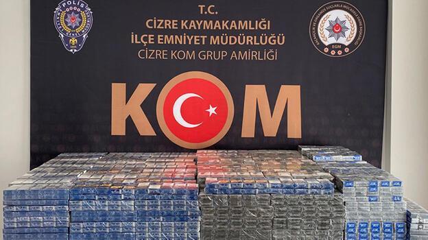 Şırnak'ta kaçakçılık ve asayiş operasyonları: 52 gözaltı