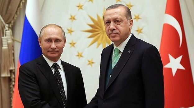 Erdoğan ve Putin'in görüşeceği konular duyuruldu