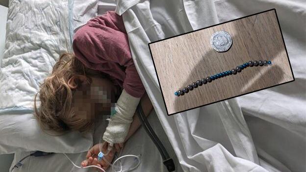 TikTok'un akımı 6 yaşındaki kızı hastanelik etti!