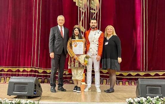 Mezitli Belediyesine, Rusya'dan müzik ödülü