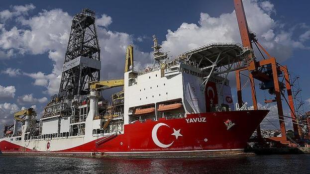 Yavuz sondaj gemisi Karadeniz'deki ilk görevi için hazırlanıyor