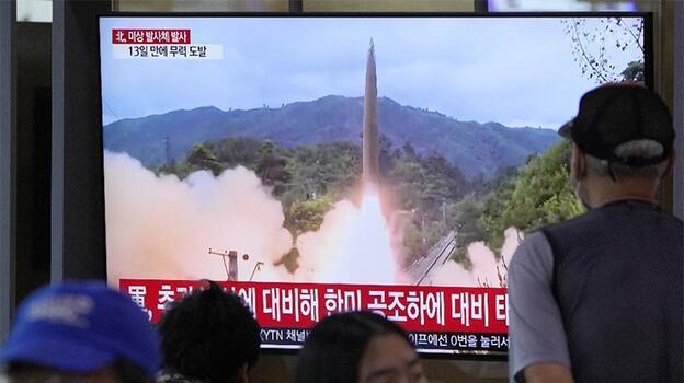 """Japonya, Kuzey Kore'nin """"balistik"""" füze denediğini açıkladı"""