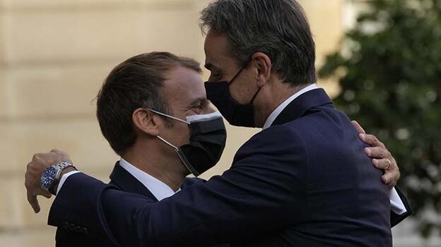 Son dakika... Fransa bu kez Yunanistan'a savaş gemisi sattı!