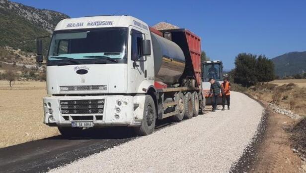 Sarıbelen'de asfalt sevinci