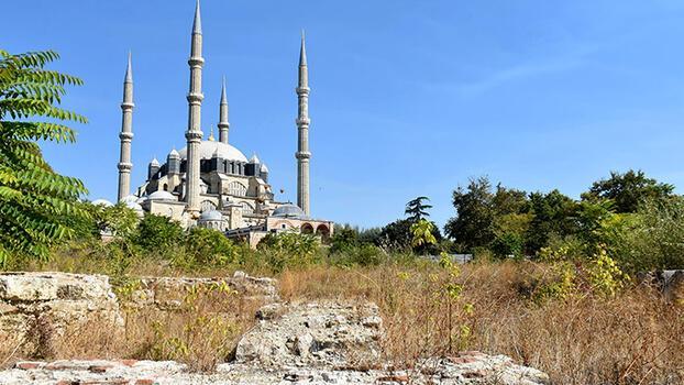 Selimiye Camii'nde 6 yıl sonra çevre düzenlemesi başladı
