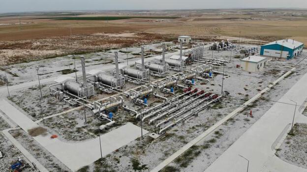 Tuz Gölü Doğal Gaz Yer Altı Depolama Tesisi'nin yüzde 51'i tamamlandı