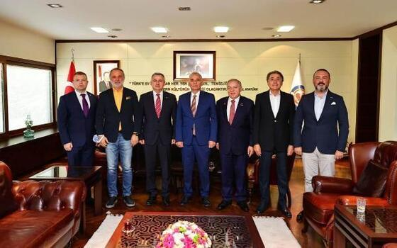 Moldova Büyükelçisi'nden Denizli Büyükşehir Belediye Başkanı Zolan'a ziyaret