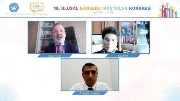 MHP'li Taşdoğan, 'Kanser kongresi'ne katıldı