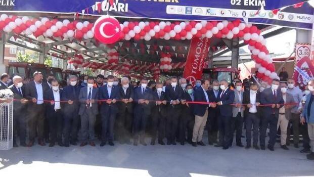 Tokat'ta 9'uncu Tarım Fuarı açıldı