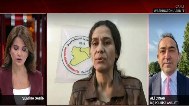Terör örgütü PKK/YPG temsilcisi, ABD'li yetkililerle görüştü