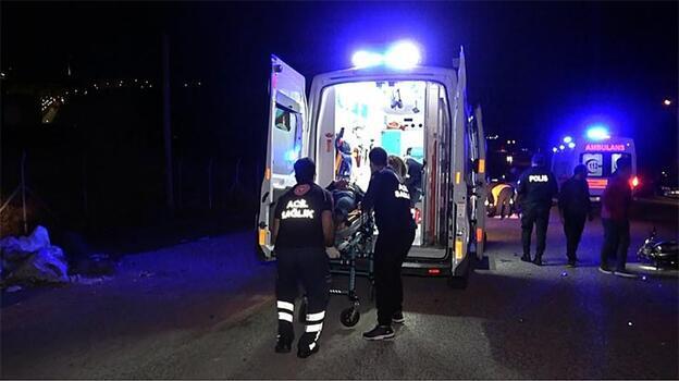 Düzce'de 2 motosiklet çapıştı, 2 kişi ağır yaralandı