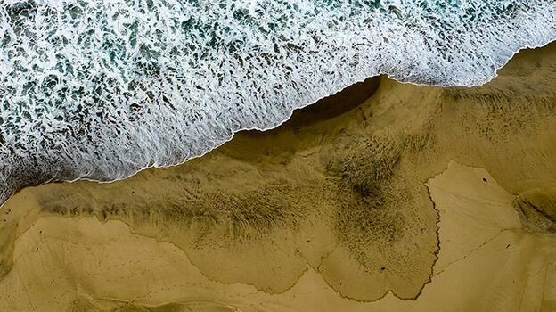 Sahil kapatıldı! Suya temas etmeyin uyarısı