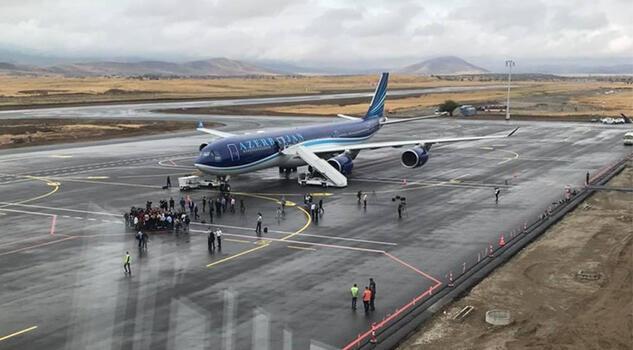 Azerbaycan, Ermenistan hava sahasını kullanmaya başladı