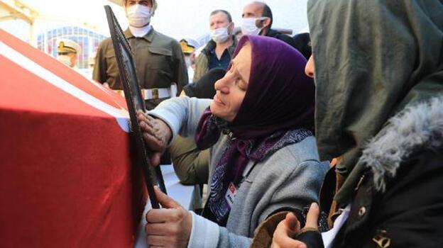 Fırat Kalkanı bölgesinde şehit olan asker, Samsun'datoprağa verildi