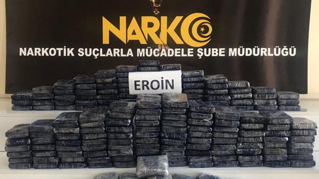 Bakan Soylu duyurdu! 87 kilogram eroin ele geçirildi