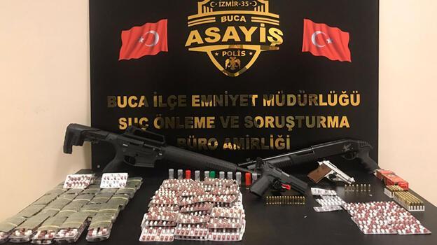 Buca'da uyuşturucu operasyonu: 2 tutuklama