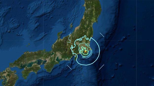 Japonya depreminde yaralı sayısı artıyor