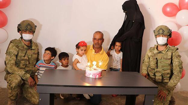 Barış Pınarı Harekatı'nın sembol ismi Suriyeli Pınar bebek, 2 yaşında