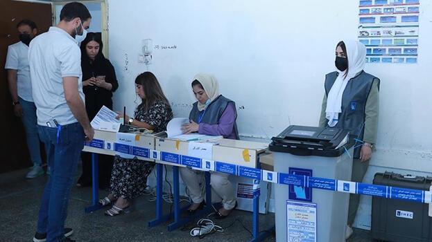 Irak'ta oy verme işlemi bitti